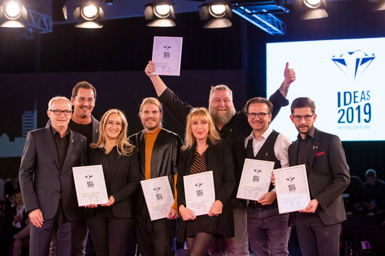 Die Sieger der Diamond Ideas Awards 2019