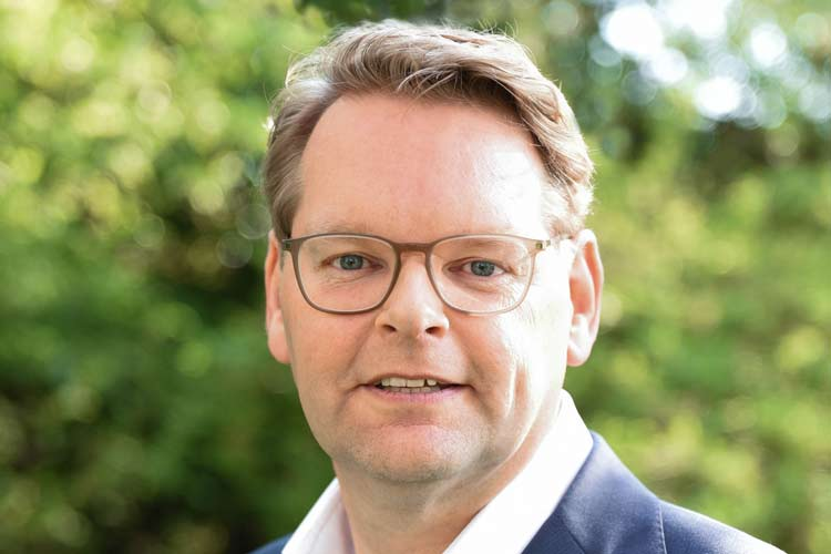 Paul Heeringa, seit 1. Mai General Manager Professional Beauty DACH Coty