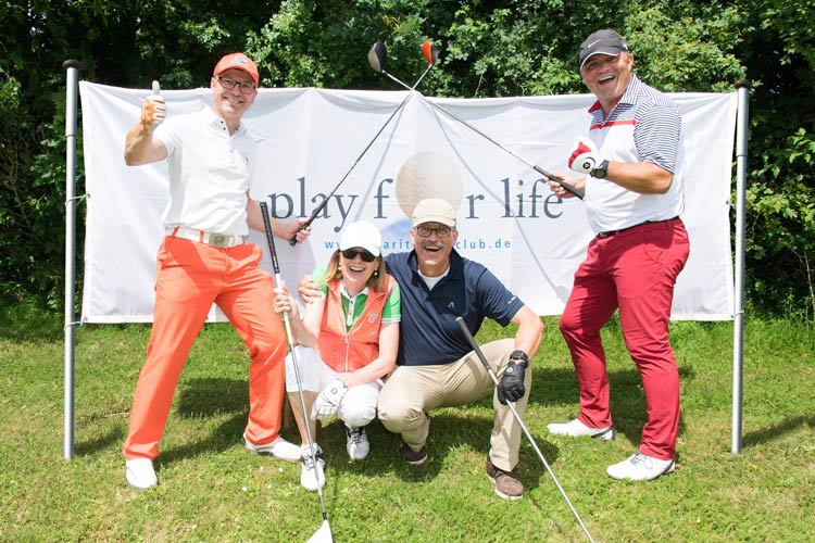 """Spiel' mit beim 22. Charity Golf-Cup """"Play for Life""""!"""