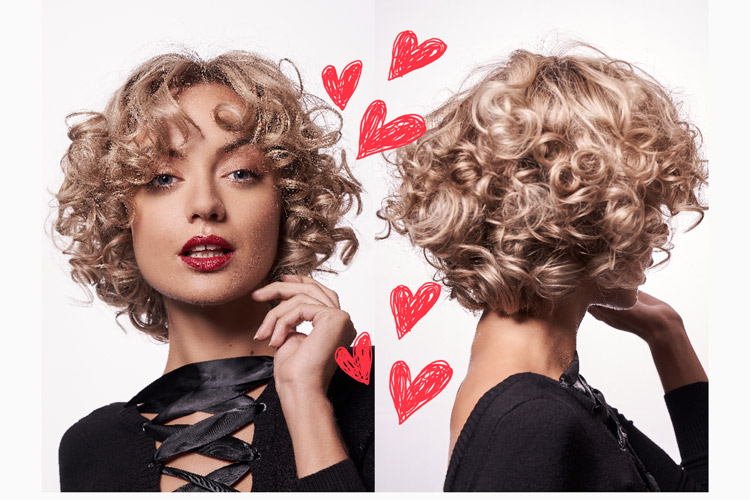 WE LOVE: der Locken-Bob erobert die Fashionszene!