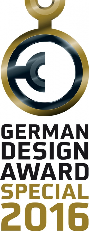 Das Logo des German Design Awards 2016
