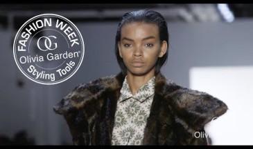 Olivia Garden für Marcel Ostertag bei der NYFW 2017