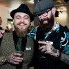 Barber Akteure: Danny van Leeuwen & Paul Taylor-Clinch aus dem Barbersalon...