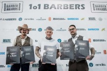 Die Sieger der International Barber Awards 2017: 1. Platz: Ken Boon...