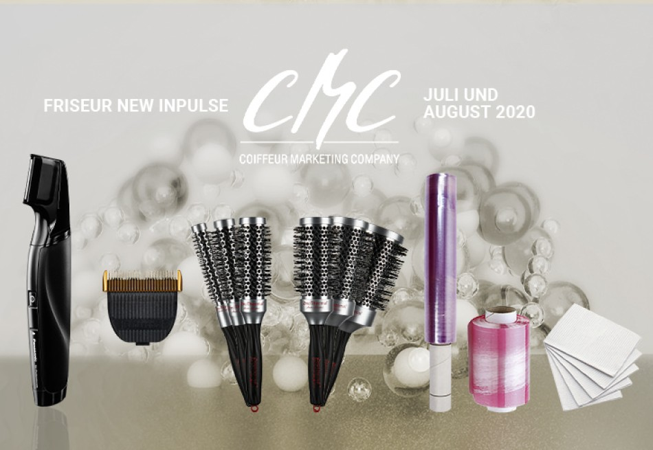 CMC New Inpulse Juli/August 2020: Unverzichtbare Tools für den Salon