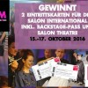 2 Tickets für den Salon International 2016