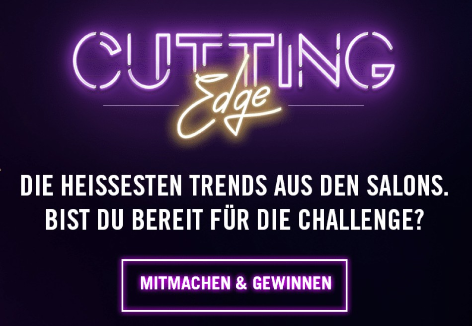 Mitmachen lohnt: The winner of the Cutting Edge Award 2021 is ...YOU!