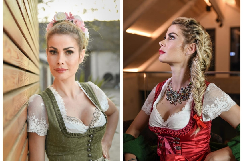 Oktoberfest Frisuren 2018, interpretiert von Great Lengths